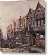 Chester Metal Print by Louise J Rayner