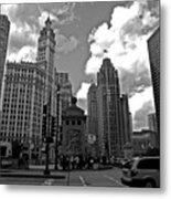 Chicago Metal Print by Miranda  Miranda