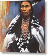 Chief Joseph Metal Print by Harvie Brown