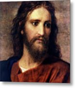 Christ At 33 Metal Print by Heinrich Hofmann