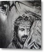 Christ Metal Print by Carla Carson