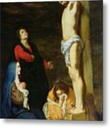 Christ On The Cross Metal Print by Gerard de Lairesse