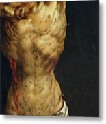 Christ On The Cross Metal Print by Matthias Grunewald