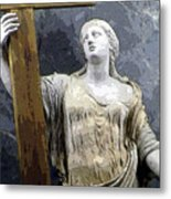 Christain Martyr Metal Print by Mindy Newman