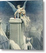 Christmas Eve Metal Print by Gustave Dore