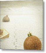Christmas Journey Metal Print by Wim Lanclus