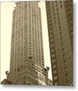 Chrysler Building Metal Print by Debbi Granruth