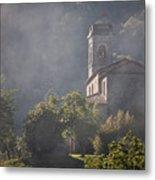 Church In Partigliano Metal Print by Steven Gray