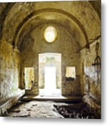 Church Ruin Metal Print by Carlos Caetano