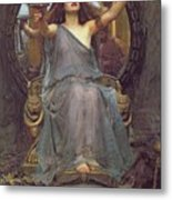 Circe Offering The Cup To Ulysses Metal Print by John Williams Waterhouse
