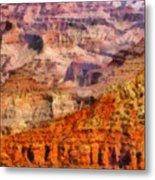 City - Arizona - Grand Canyon - Kabob Trail Metal Print by Mike Savad