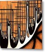 Cityscape One Metal Print by Jeff DOttavio