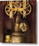 Clockmaker - The Mechanism  Metal Print by Mike Savad