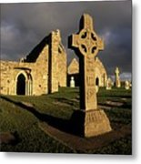 Clonmacnoise Monastery, Co Offaly Metal Print by The Irish Image Collection