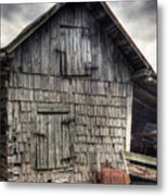 Closed For Business Metal Print by Pete Hellmann
