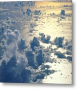 Clouds Over Ocean Metal Print by Ed Robinson - Printscapes