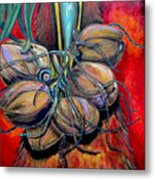 Coconuts Metal Print by Patti Schermerhorn
