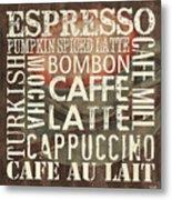 Coffee Of The Day 2 Metal Print by Debbie DeWitt
