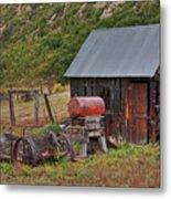 Colorado Ranch Metal Print by Charles Warren