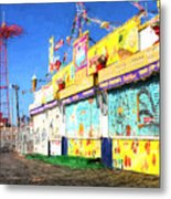 Colorful Metal Print by JC Findley