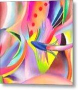 Colorful Sea Metal Print by Peter Shor