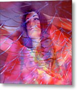 colorful surreal woman mannequin photography - Desdemona Metal Print by Sharon Hudson