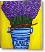 Colours Of Provence Metal Print by Lisa  Lorenz