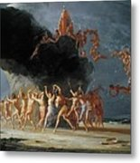 Come Unto These Yellow Sands Metal Print by Richard Dadd