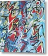 Composition No 7 Metal Print by Michael Henderson