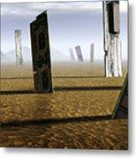 Computer Circuit Board Graveyard Metal Print by Tim Vernonlth Nhs Trust