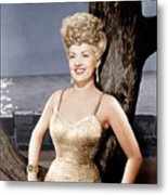 Coney Island, Betty Grable, 1943 Metal Print by Everett