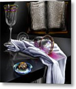 Consecrated Metal Print by Reggie Duffie