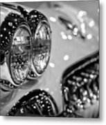 Corvette Bokeh Metal Print by Gordon Dean II