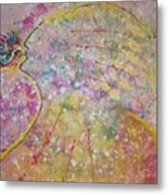 Cosmos Song Metal Print by Ruth Beckel