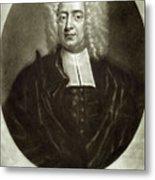 Cotton Mather 1663-1728 Metal Print by Granger