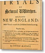 Cotton Mather, 1693 Metal Print by Granger