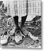 Cotton Picker, 1937 Metal Print by Granger