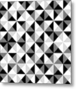 Count The Squares Metal Print by Ron Brown