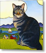 Coupeville Cat Metal Print by Stacey Neumiller