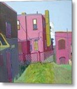 Courtyard View Metal Print by Debra Robinson