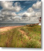 Covehead Lighthouse Metal Print by Elisabeth Van Eyken