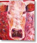 Cow Metal Print by Anastasis  Anastasi
