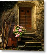 Croatian Stone House Metal Print by Don Wolf