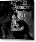 Crowned Death II Metal Print by Marc Huebner