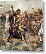 Cuba: Rough Riders, 1898 Metal Print by Granger