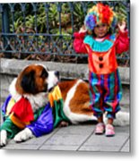 Cuenca Kids 136 Metal Print by Al Bourassa