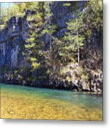 Current River 7 Metal Print by Marty Koch