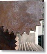 Cylindrical Gears Metal Print by Yali Shi