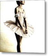 Dancer At Peace Metal Print by Richard Young