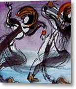 Dancing The Blues Metal Print by Dan Earle